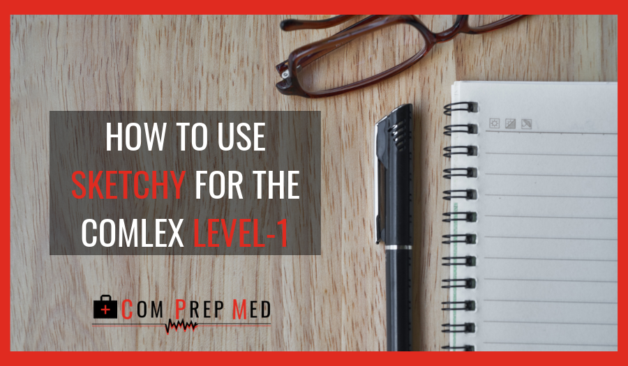 HOW TO USE SKETCHY FOR THE COMLEX LEVEL-1 - comprepmed